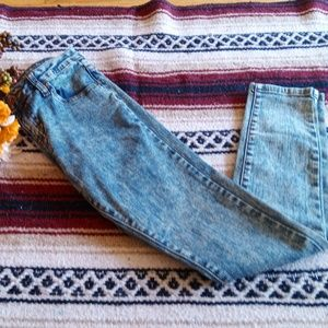 Forever 21 Acid Washed Skinny Jeans Size:24